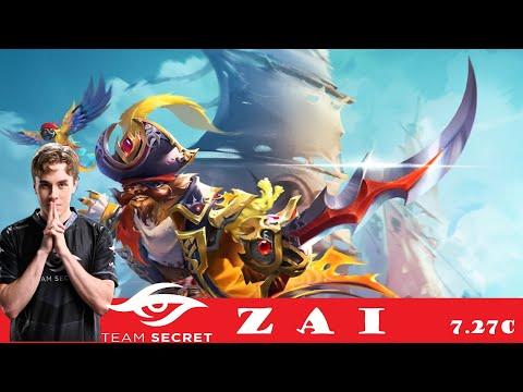 [DOTA 2] Team SECRET.zai the PANGOLIER [OFFLANE] [7.27C]