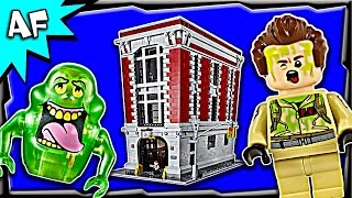Lego Ghostbusters FIREHOUSE Headquarters 75827 Stop Motion Build Review