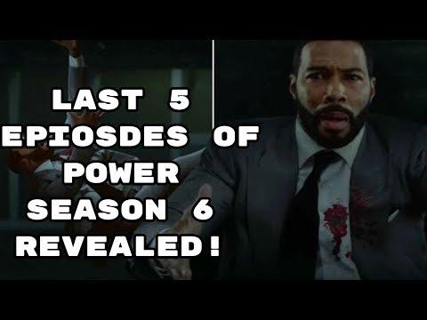 LAST 5 EPISODES OF POWER SEASON 6 ARE REVEALED