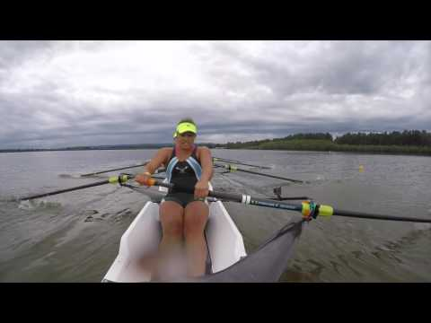 I never knew rowing could be so intense.