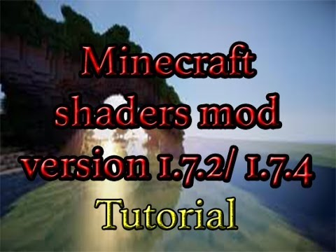 Shaders mod for MineCraft 1.7.2/1.7.4 [Mac/Win] | HD (видео)