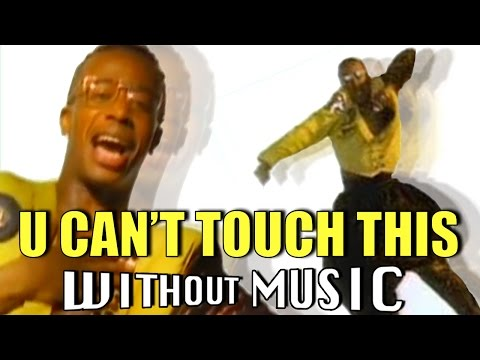 "MC Hammer's ""Cant't Touch This' music video without music just might be better than the song itself"