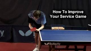 #13 How To Improve Your Service Game