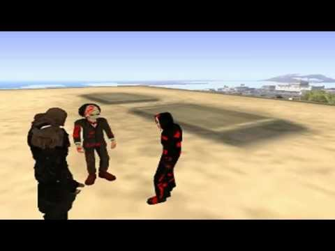 Loquendo Gta san andreas - Goku vs Scream,Nemesis,Saw Parte 5