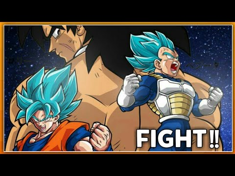 Dragon Ball Super New Movie : Broly VS Goku || Full Fight || In Hindi Dub FanMade Remix