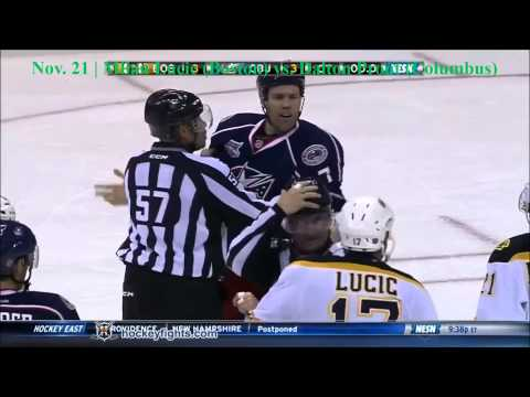 Top Ten NHL Hockey Fights of November 2014