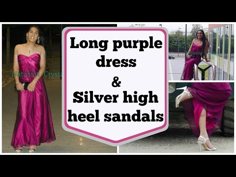 highheels CD TV - My Blog: http://natcrys.blogspot.com So, when life is a bit crazy.. I say, do something crazy in return! So.. wear a very pretty dress fit for a prom or wedd...