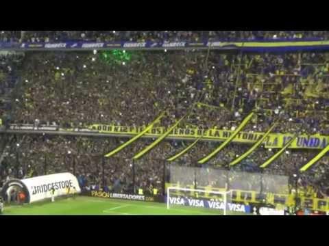 No somos como los putos de River Plate - FIESTA PREVIA / BOCA-RIVER LIBERTADORES 2015 - La 12 - Boca Juniors