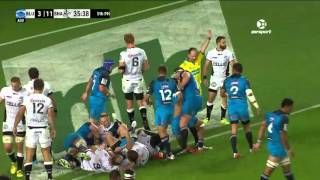 Blues v Sharks Rd.8 2016 | Super Rugby Video Highlights