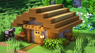 Minecraft Tutorial 5x5 Wooden House Easy