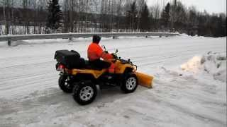 11. Can-Am Outlander 800 Snow Plow