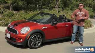 2013 MINI Roadster S Test Drive&Convertible Car Video Review