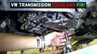 VW TRANSMISSION SHIFTS HARD VALVE BODY REPLACEMENT FIX