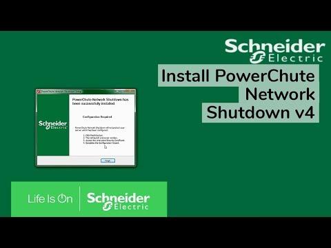 Installing PowerChute Network Shutdown v4 on Windows | Schneider Electric Support