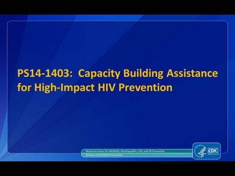 CDC's HIV Funding Opportunity Announcement 14-1403