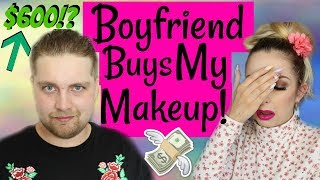 Video Boyfriend BUYS MY MAKEUP!!! Challenge! MP3, 3GP, MP4, WEBM, AVI, FLV April 2018