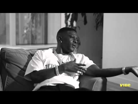 talks - SUBSCRIBE to VIBE: http://bit.ly/subvibe Lil' Boosie is clearly a changed man. Before his extended prison bid, the Louisiana rapper had a penchant for drugs, guns and strippers. But as a free...