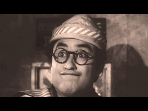 Kishore Kumar Best Comedy Scenes -  Bollywood Movie Half Ticket - Jukebox 54