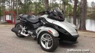 10. Used 2008 Can-am Spyder SM5 Trike for sale
