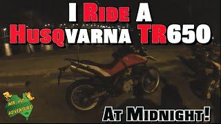 8. I Ride A Husqvarna TR650