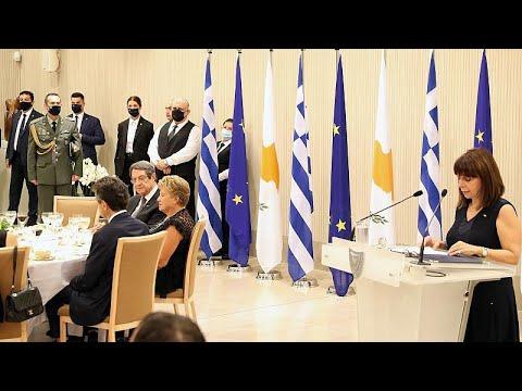 Σακελλαροπούλου – Αναστασιάδης: Κοινό μήνυμα Αθήνας – Λευκωσίας…