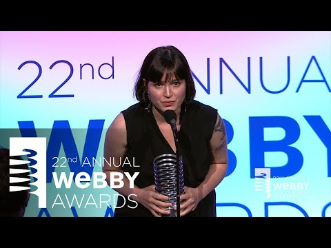 Susan Fowler's 5-Word Speech at the 22nd Annual Webby Awards