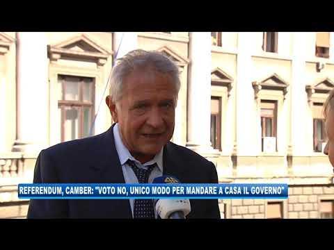 15/09/2020 - REFERENDUM, CAMBER: 'VOTO NO, UNICO MODO PER MANDARE A CASA IL GOVERNO'