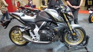 8. 2013 Honda CB1000R Extreme - Walkaround - 2012 Toronto Motorcycle Show