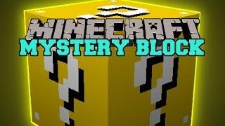 Minecraft: MYSTERY BLOCK (GOOD OR EVIL? BLOCK OF REWARDING DEATH) Mod Showcase