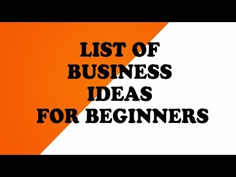 Business Ideas For Beginners | Business Plan Template