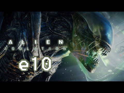 e10 - Alien Isolation is finally the Alien game we have all been waiting for! We are playing as Amanda Ripley, the daughter, and we are going to the Sevastopol to find the flight recorder of Nostromo....