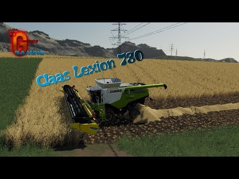 Claas Lexion 780 Combine v1.0