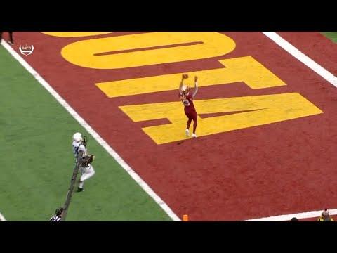 Sean Clifford Interception Leads To Rashad Bateman TD Vs. Penn State
