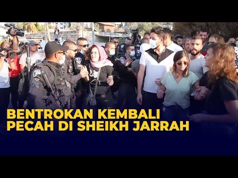 Bentrok Warga Palestina vs Polisi Israel Kembali Pecah di Permukiman Sheikh Jarrah