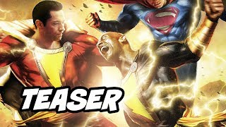 Shazam Black Adam Scene - Shazam vs Black Adam Teaser Breakdown