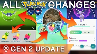 HERE'S *EVERYTHING* THAT CHANGED IN THE POKÉMON GO GEN 2 UPDATE by Trainer Tips