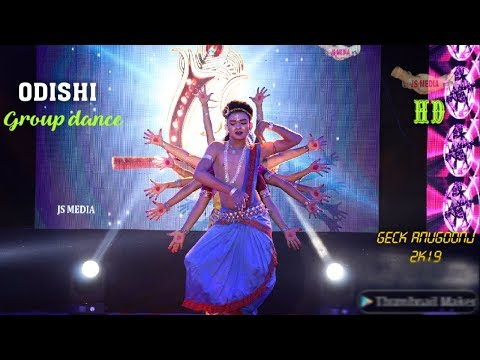 Odishi Dance-gcek Anugoonj 2k19-hd-hs Media