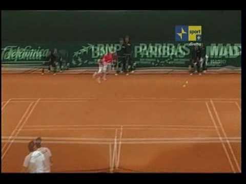 Starace VS Federer- Copa Davis 2009
