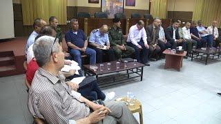 اجتماع المجلس الاعلى للطوارئ في محافظة طولكرم