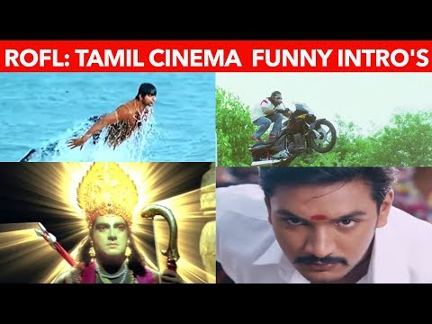Funny movies - Tamil Movies Most trolled funny Intro scenes that will make you laugh   Ajith  vijay