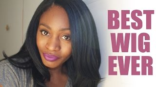 Best Synthetic Wig To Ever Exist!!! | Freetress Equal - Jannie | Yaki Texture