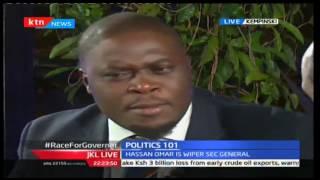 JKL: Politics 101; Race For Nairobi And Mombasa Gubernatorial Seat, 12/10/16 Part 1