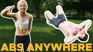 How to get SHREDDED ABS with Anna Davey! by Bouldering Bobat