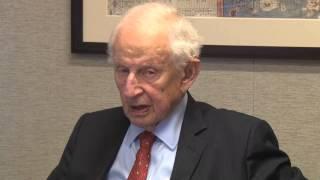 Robert Morgenthau, former New York District attorney, speaks on the Armenian Genocide