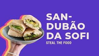STEAL THE FOOD apresenta: receita fácil de sanduíche