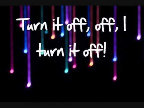 The Wanted - Turn It Off lyrics