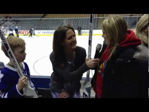 Kate Asks: Annaleise Carr joins us at Leafs pre-game skate