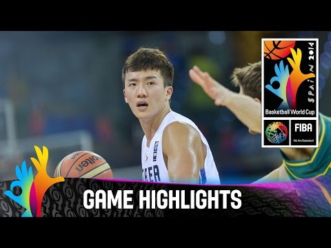 korea - Watch the game highlights of Korea v Australia here on YouTube. The 2014 FIBA Basketball World Cup will take place in Spain from 30 August - 14 September and will feature the best international...