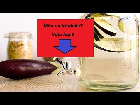Dieta - Água de Berinjela e Limão Emagrece Mito ou Verdade? - Veja Como Fazer Água de Berinjela e Limão