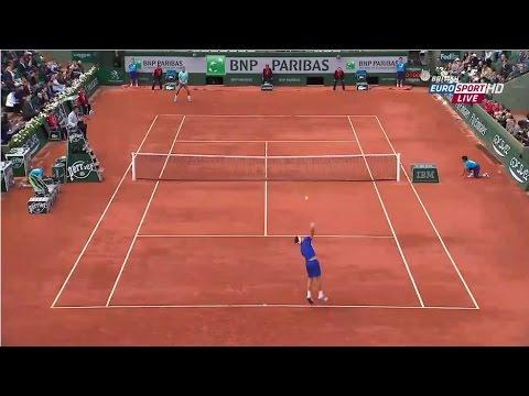 Nadal vs Ferrer - Roland Garros 2014 Highlights
